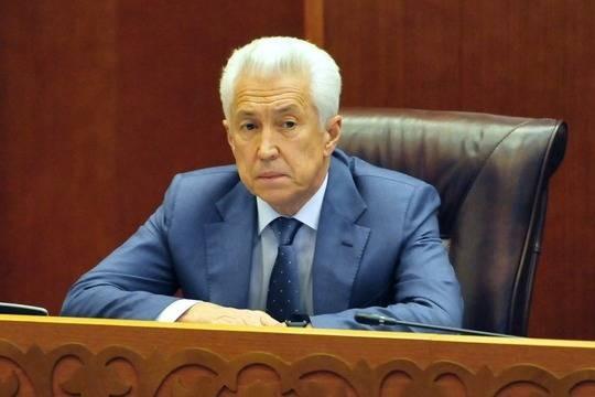 Васильев внес изменения в законодательный проект ольготах для ТОР «Каспийск»